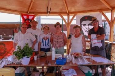 Le stand France Cuba et ses fameux mojitos !