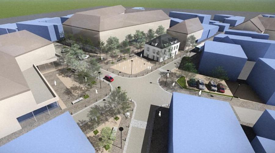 Perspective du renouvellement du centre-ville de Limay
