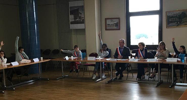 Séance plénière du Conseil Municipal des Enfants (CME)