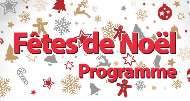 Fêtes de Noël – Programme